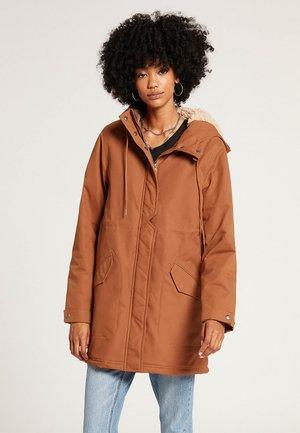 LESS IS MORE - Winter coat - mocha