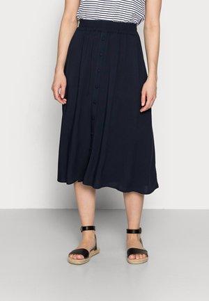 RADIA  - A-line skirt - navy