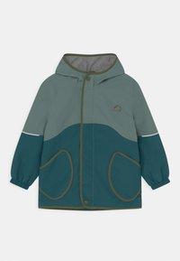 Finkid - AARRE UNISEX - Outdoorová bunda - trellis/bronze green - 0