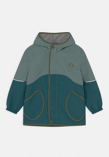 AARRE UNISEX - Outdoor jacket - trellis/bronze green