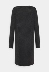Noisy May Tall - NM LUCIE - Jumper dress - dark grey melange - 1