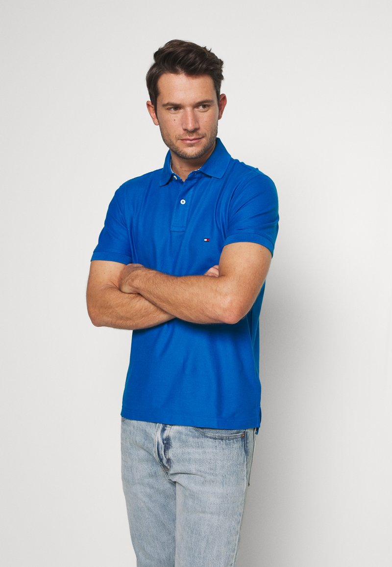Tommy Hilfiger - REGULAR - Polo - blue