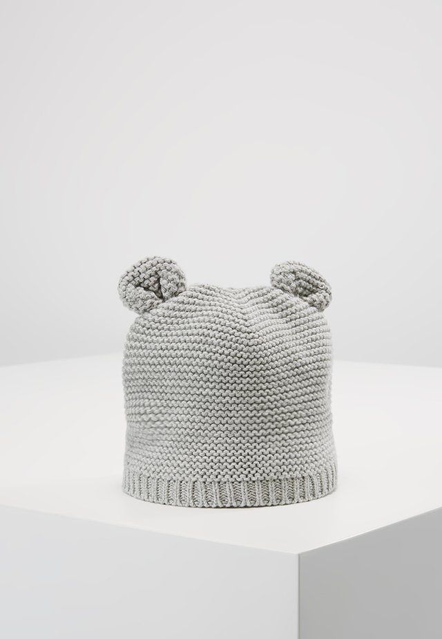 GARTER HAT UNISEX - Bonnet - grey