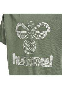 Hummel - HMLPROUD - T-shirts print - sea spray - 3