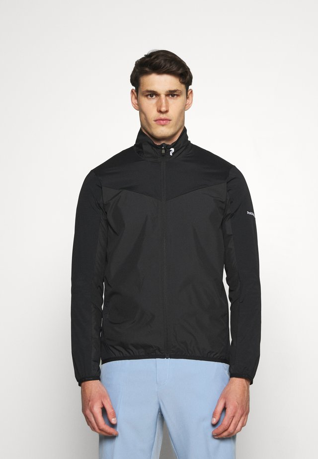 MEADOW WIND JACKET - Giacca outdoor - black