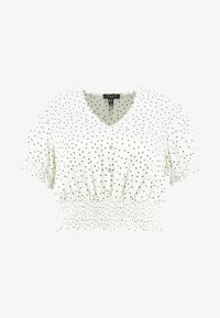 New Look Curves - SHIRRED SPOT - Blouse - white - 3