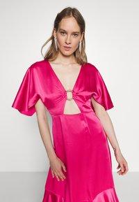 HUGO - KAVORA - Maxi dress - bright pink - 4