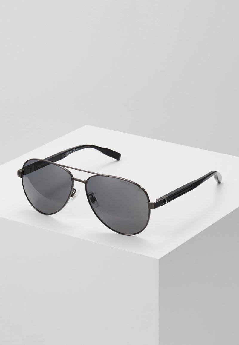 Mont Blanc - Sluneční brýle - ruthenium black/grey
