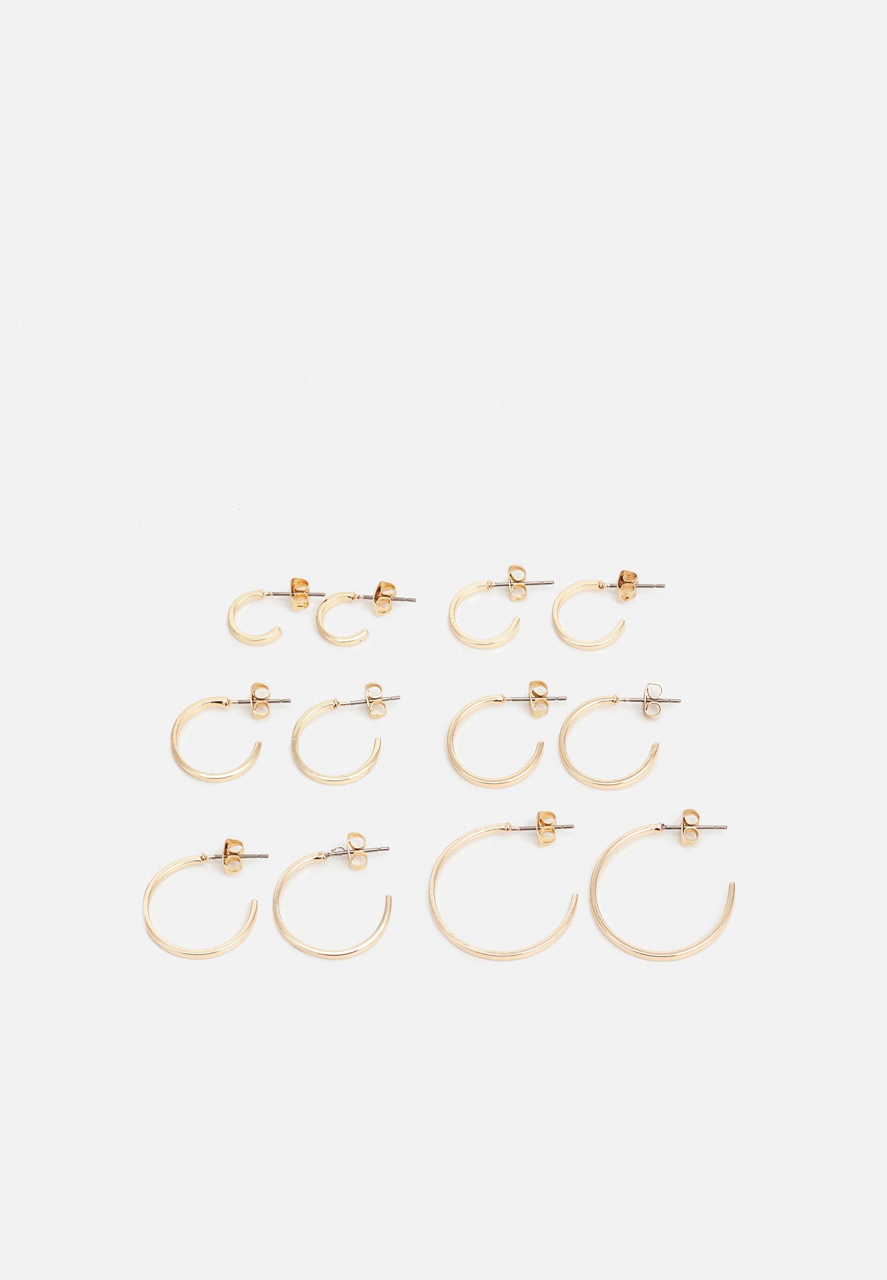 Women PCSANNY HOOP EARRINGS 6 PACK - Earrings
