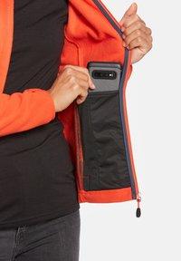 Jeff Green - ANNE - Fleece jacket - orange - 5