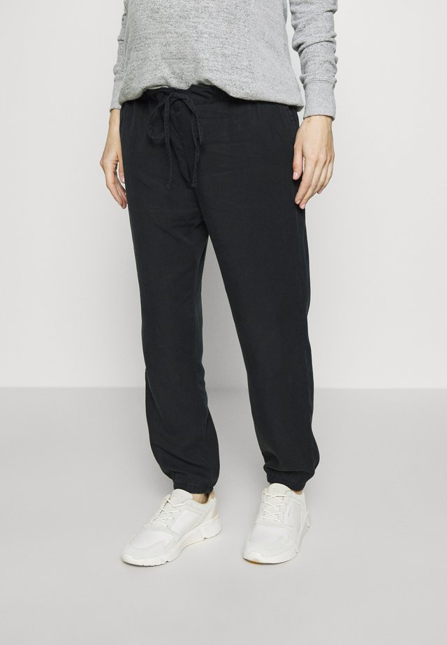 PULL ON JOGGER MATERNITY - Trousers - true black