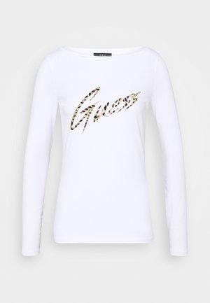 NORAH  - Langærmede T-shirts - true white