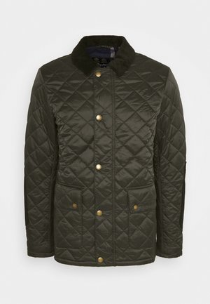 DIGGLE QUILT - Light jacket - olive/seaweed