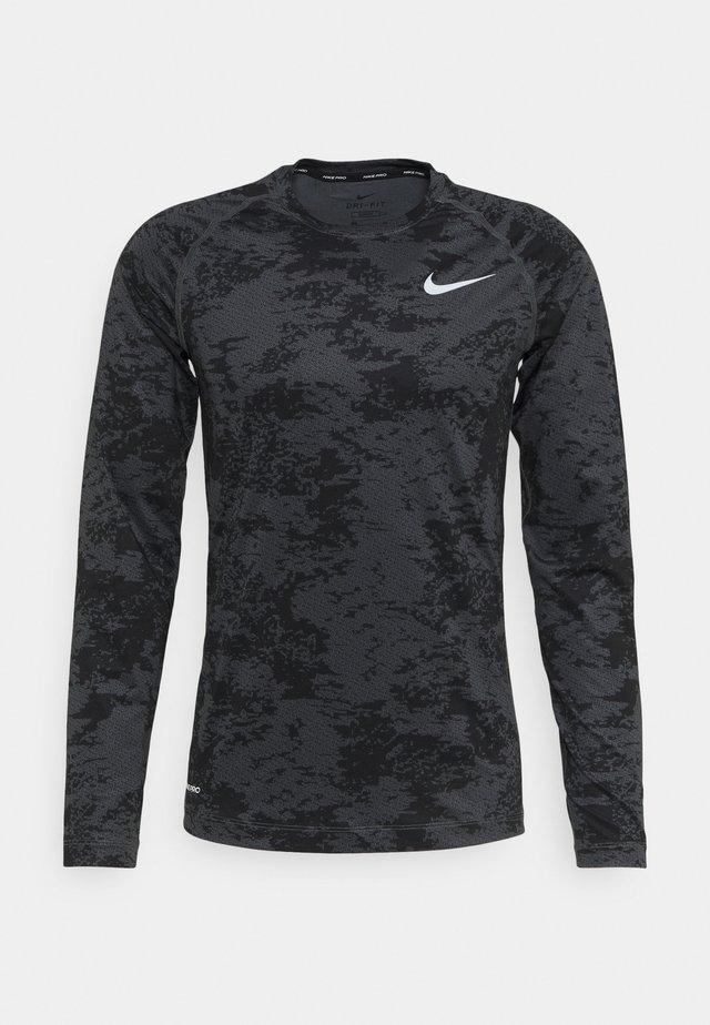 Sports shirt - iron grey/white