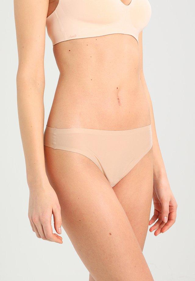 SOFT STRETCH - Perizoma - nude