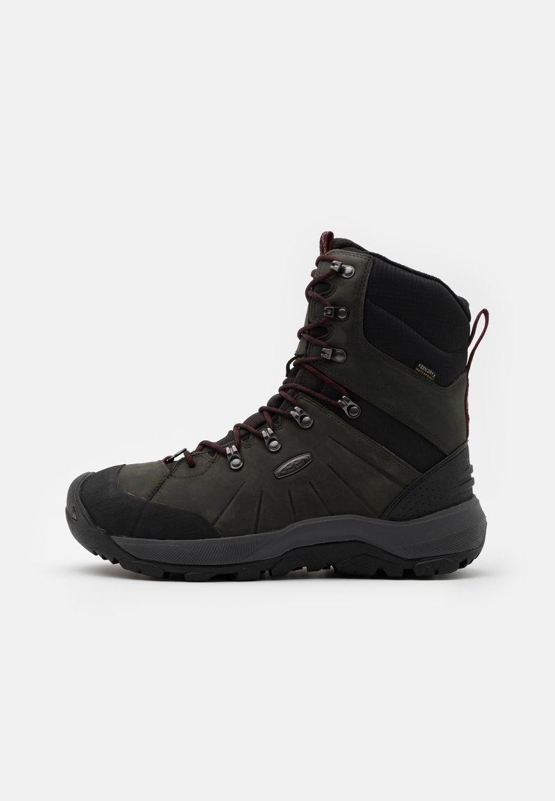 Keen - REVEL IV HIGH POLAR - Winter boots - magnet/red carpet