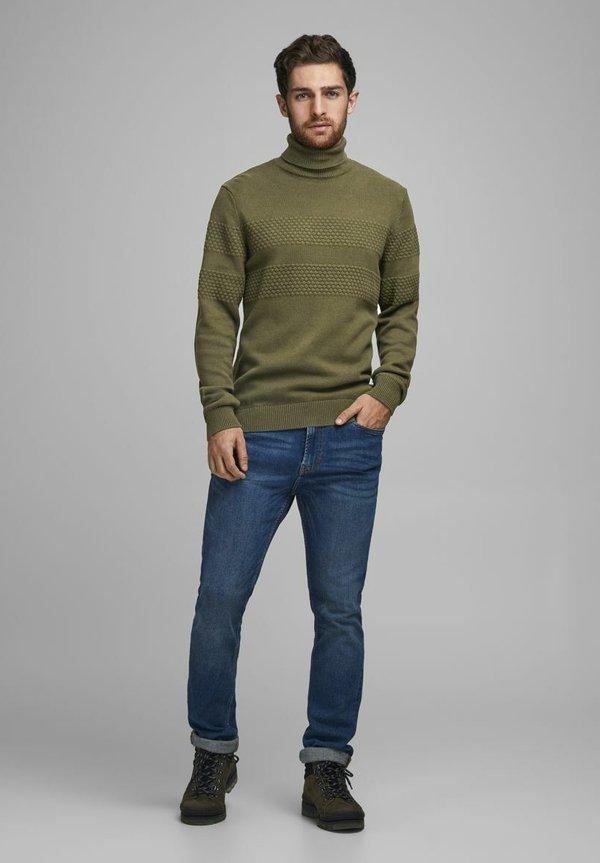 Produkt Sweter - olive night/oliwkowy Odzież Męska QDXG
