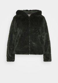 ONLY Carmakoma - CARCHRIS HOODED JACKET - Light jacket - dark green - 5