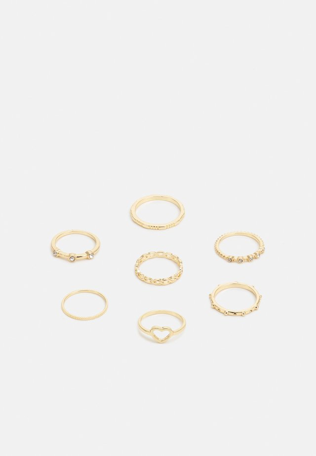 FGGABI 9 PACK - Ringe - gold-coloured
