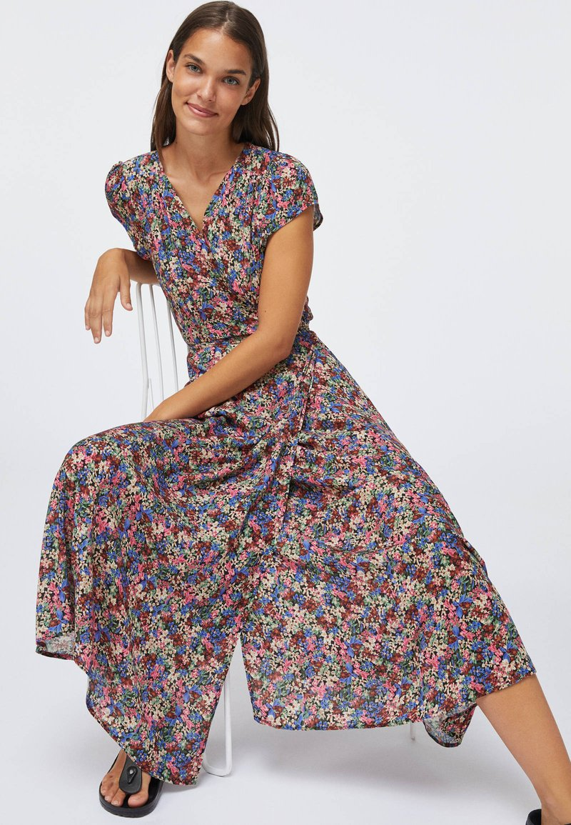 OYSHO - FLORAL  - Sukienka letnia - multi-coloured