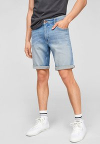 Q/S designed by - Jeans Shorts - light blue - 0