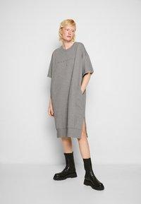 MM6 Maison Margiela - DRESS - Day dress - grey - 0