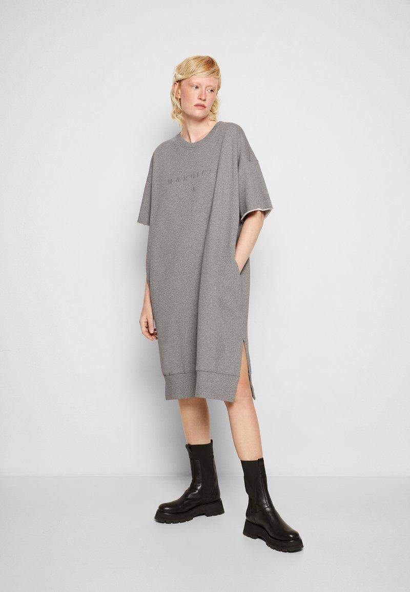 MM6 Maison Margiela - DRESS - Day dress - grey