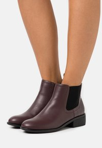 Dorothy Perkins - MAPLE CHELSEA - Ankle boots - burgundy - 0
