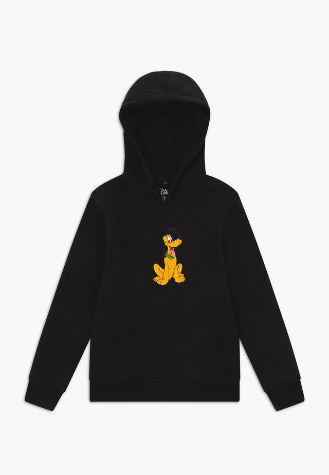 KIDS PLUTO POSE HOODY - Bluza z kapturem - black