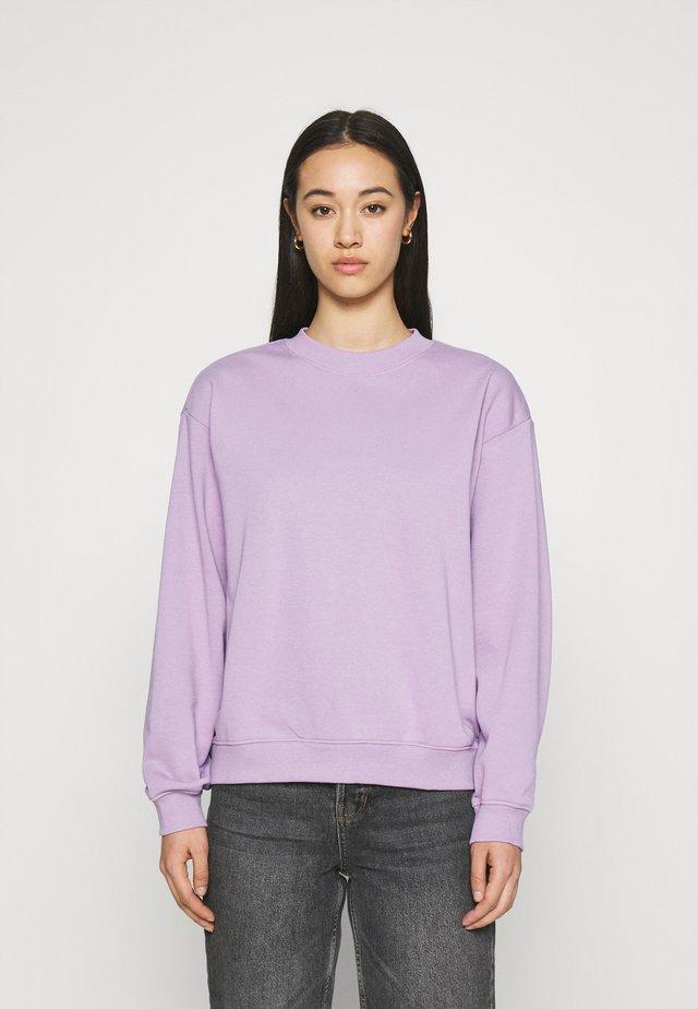 Sweater - lilac purple dusty light