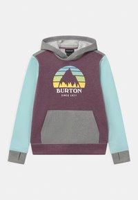 Burton - KIDS OAK HOODIE UNISEX - Sweatshirt - dusk purple heather - 0