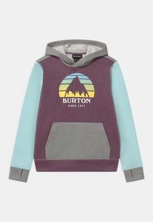 KIDS OAK HOODIE UNISEX - Sweatshirt - dusk purple heather