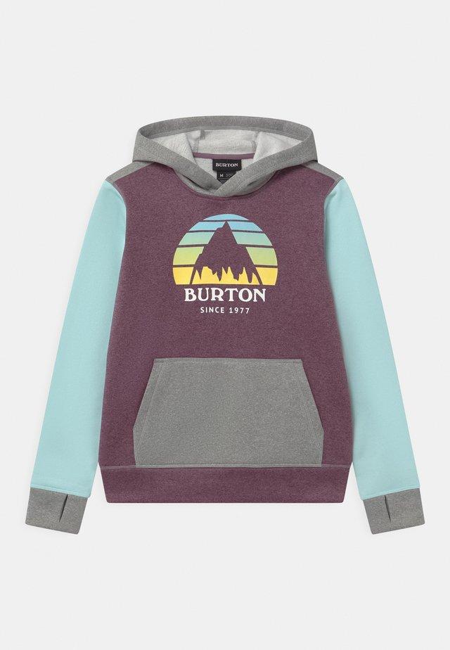 KIDS OAK HOODIE UNISEX - Sweatshirt - dusk purple heather