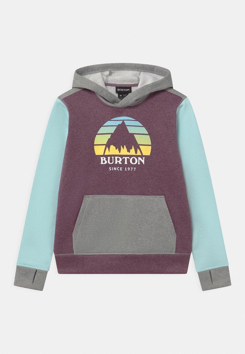 Burton - KIDS OAK HOODIE UNISEX - Sweatshirt - dusk purple heather