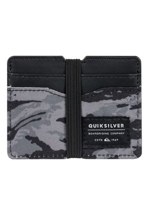 QUIKSILVER™ FLOKER - KARTENHALTER EQYAA03923 - Business card holder - black