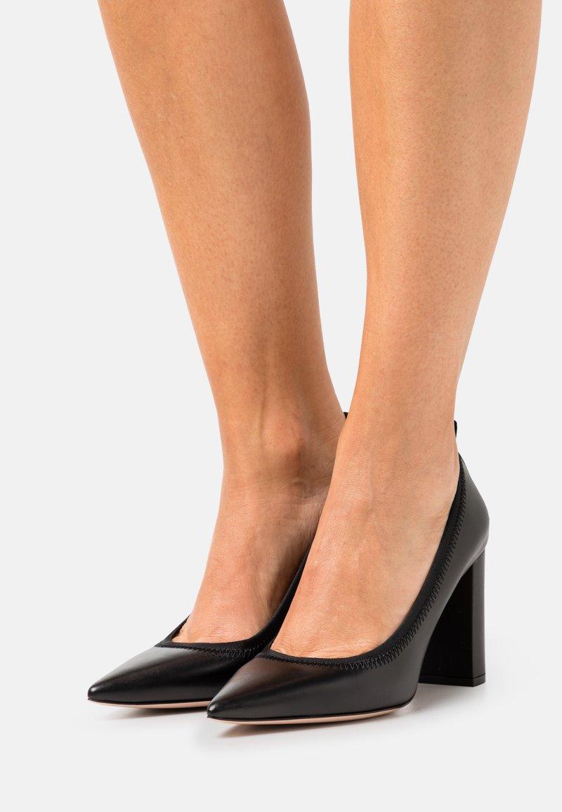 HUGO - INES CHUNKY - Classic heels - black