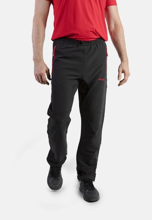 CLOISTER - Pantalons outdoor - black/red
