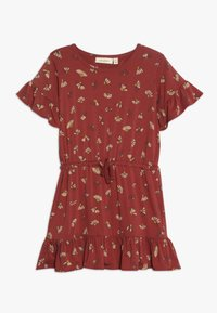 Soft Gallery - DANICA DRESS - Jersey dress - burnt brick - 0