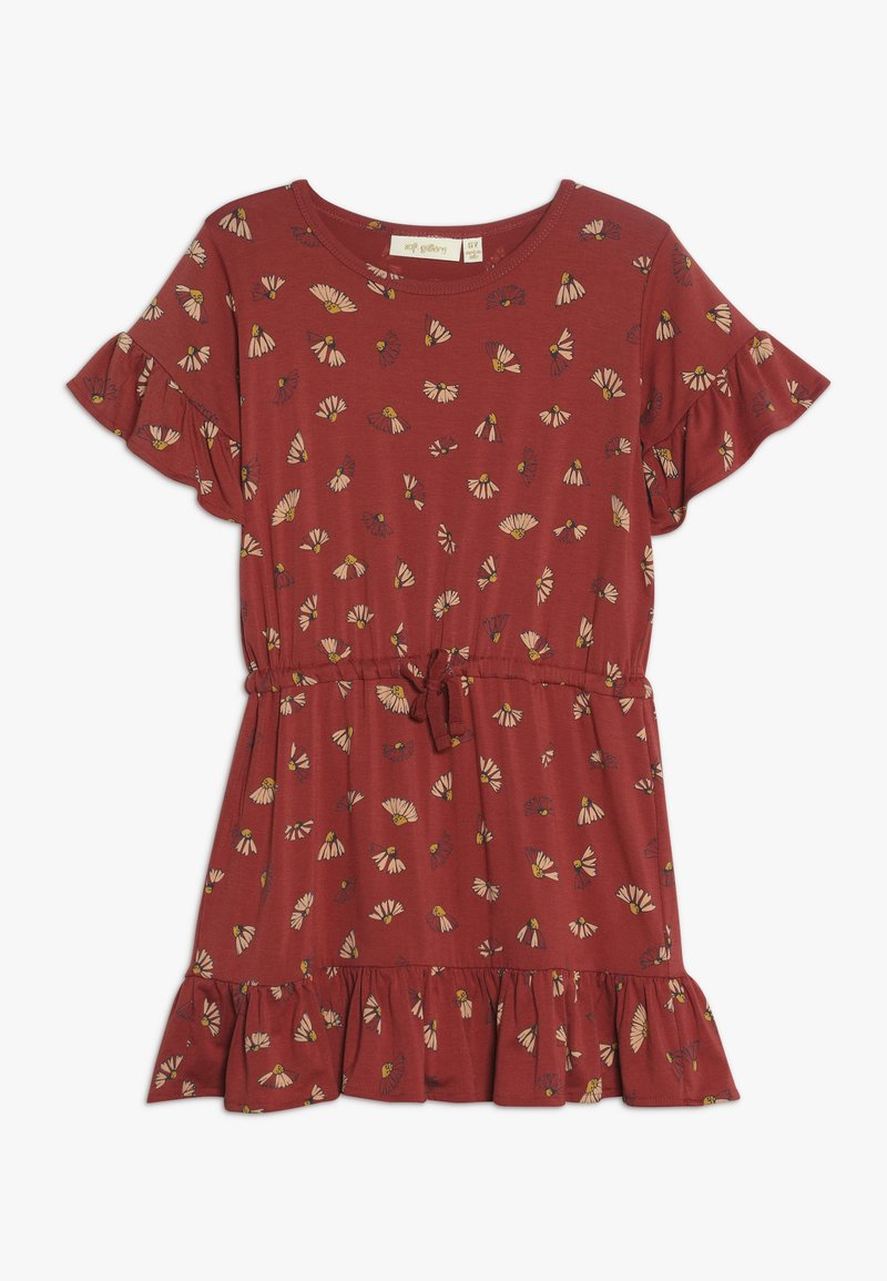 Soft Gallery - DANICA DRESS - Jersey dress - burnt brick