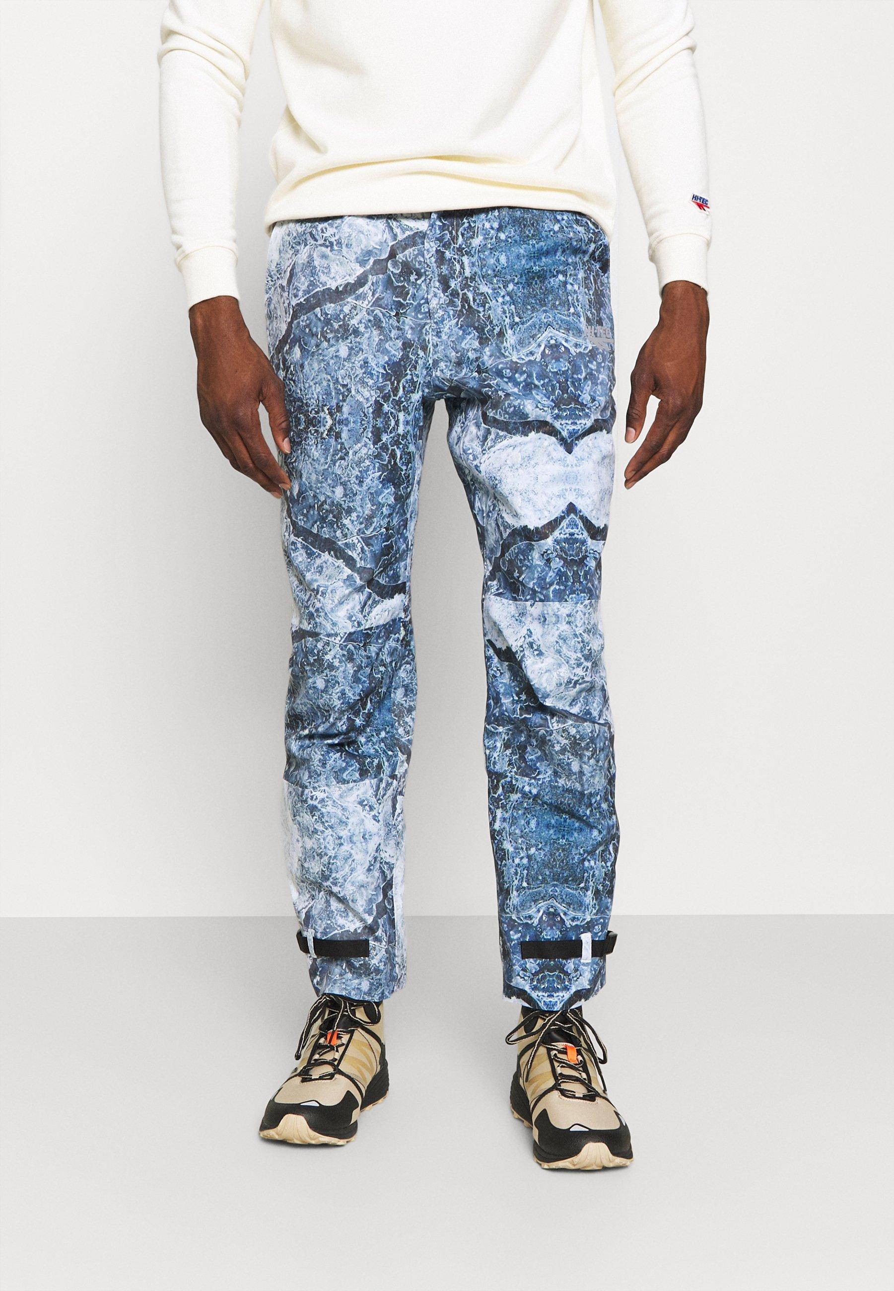 Men GARNBRET - Outdoor trousers - glacier