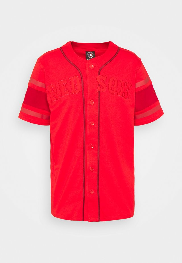 MLB BOSTON RED SOX FRANCHISE SUPPORTERS FASHION  - Klubbkläder - uni red