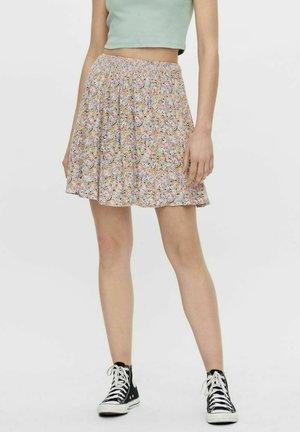 A-line skirt - dahlia purple