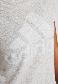 adidas Performance - WINNERS TEE - Print T-shirt - light grey - 4