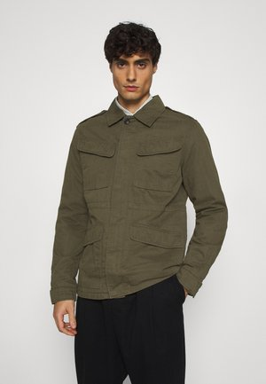 SLHMASON MILITARY JACKET - Korte jassen - forrest night