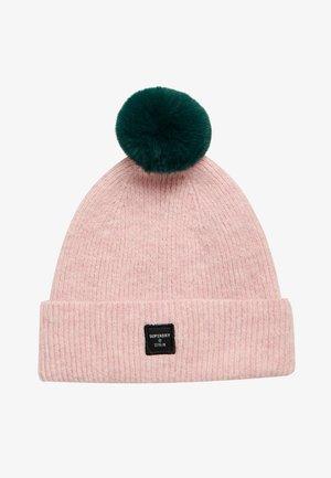 Muts - nappa pink/rich boston green