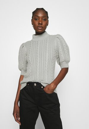 RAWANGZ TURTLENECK - Jumper - slate gray