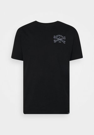 SLIDELL - T-shirt med print - black