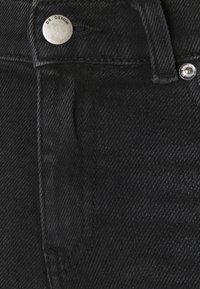Dr.Denim Petite - MACY - Široké džíny - black mist - 6