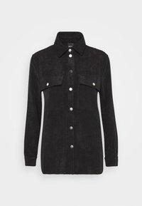 Gina Tricot - CORY - Button-down blouse - black - 4