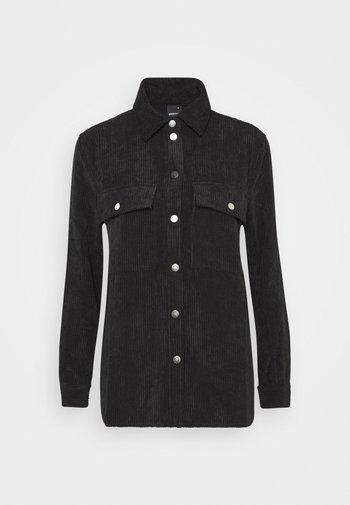 CORY - Button-down blouse - black